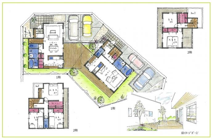 隣で暮らす  二世帯住宅